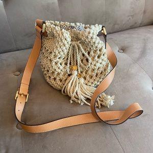 Tory Burch crochet crossbody bag